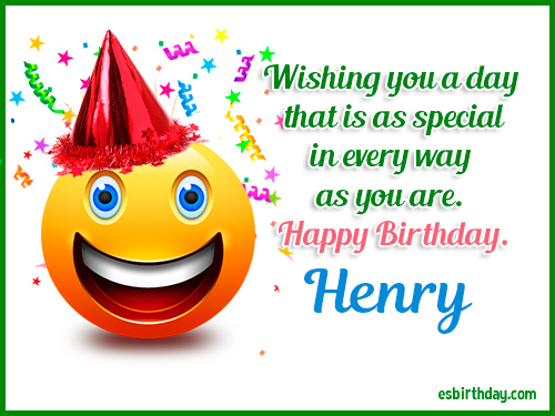 happy birthday henry Happy Birthday Henry   Happy Birthday images for Name happy birthday henry