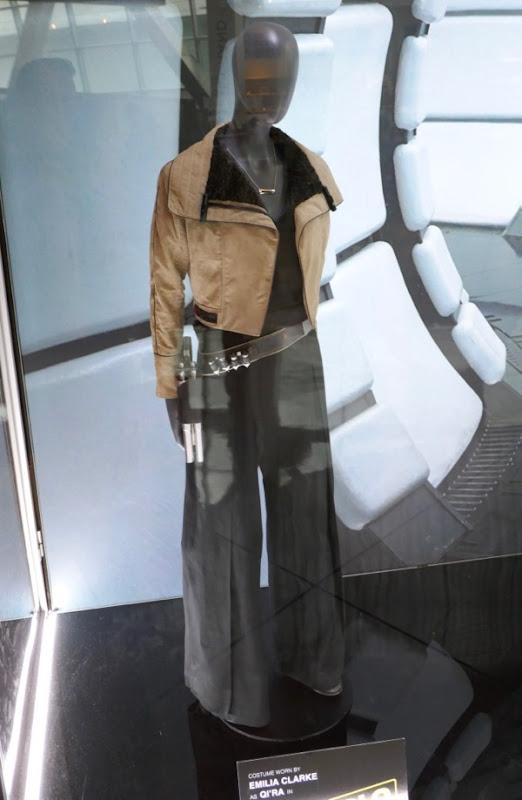 Emilia Clarke Solo Qi'ra film costume