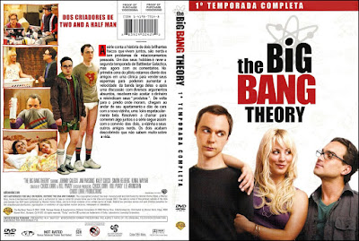 Série The Big Bang Theory 1º Temporada Completa DVD Capa
