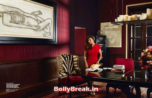 , Shahrukh Khan's House Real Pics from AD (Architectural Digest) Magazine