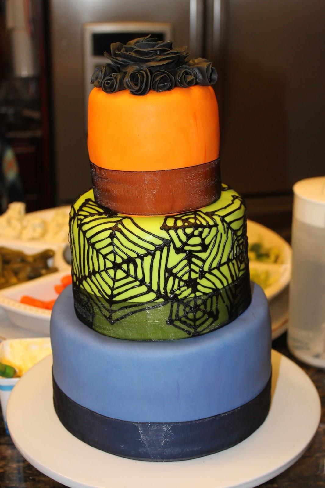 Drakes Cakes Halloween Birthday Cake
