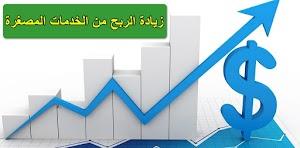 زيادة الربح من الخدمات المصغرة Increase profit from small business