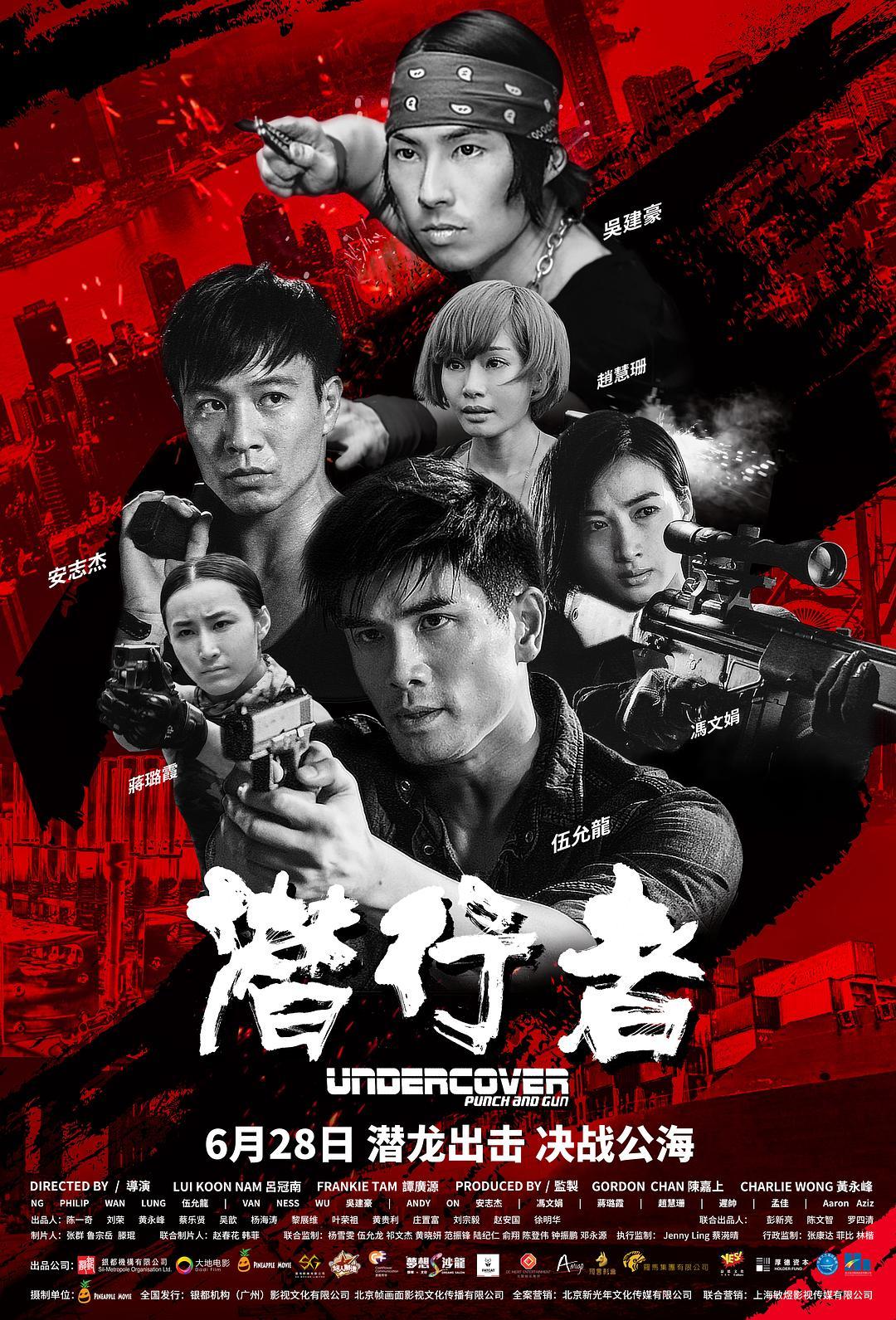 Undercover vs Undercover (2019) Chinese 720p BluRay 1.1GB