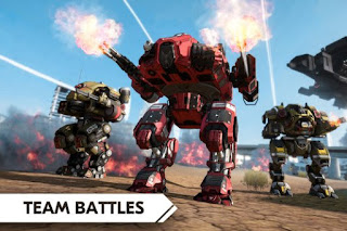 Review Game Android Terbaru Agustus 2018 Robot Warfare Online