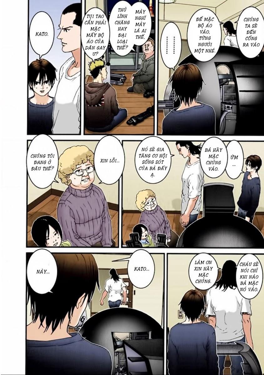Gantz Chap 32: Quên trang 4