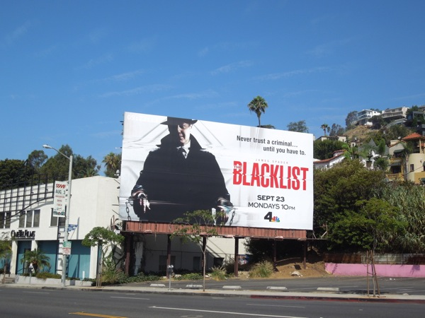 Blacklist season 1 billboard