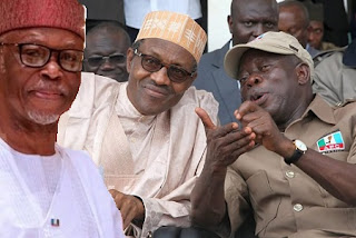 Oyegun Buhari and Oshiomhole