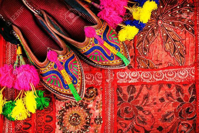 Go shopping in colorful bazaars