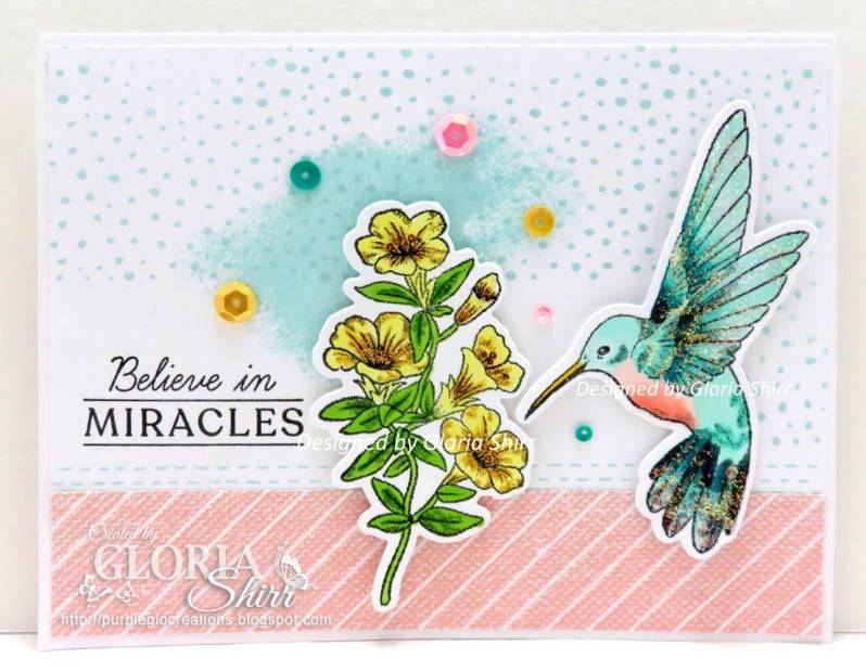 Featured Card for Happy Little Stamper Dies Challenge