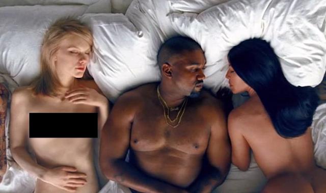 """Taylor Swift se siente ofendida con el video """"Famous"""" de Kanye West."""