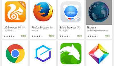 Aplikasi Android Terbaik Gratis Web Browser