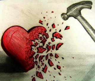 Hasil gambar untuk gambar patah hati