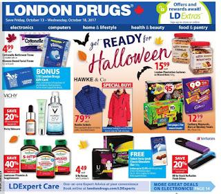 London Drugs Flyer October 13 – 18, 2017