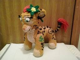 PATRON GRATIS PENDA | THE LION GUARD AMIGURUMI 36698