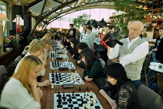 Echecs : Les blondes battent les brunes - Photo © Eldar Mukhametov