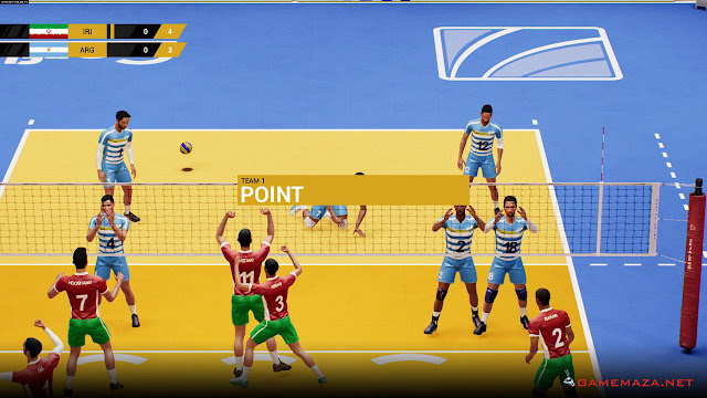 Spike Volleyball Gameplay Screenshot 2