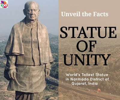 statue of unity - world's tallest statue