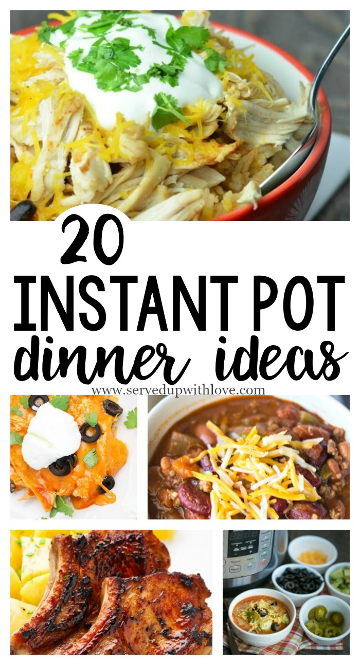 how to set time in instant pot