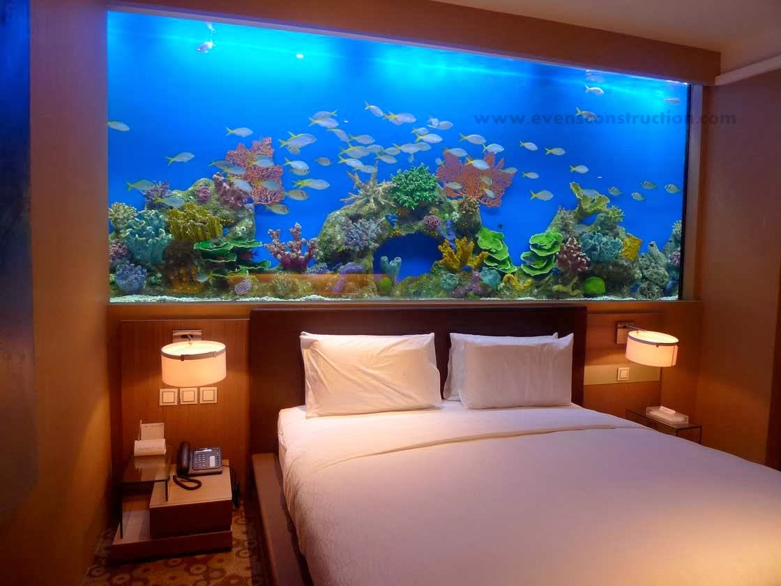 Muebles Para Peceras Marinas Evens Construction Pvt Ltd: Aquarium Designs