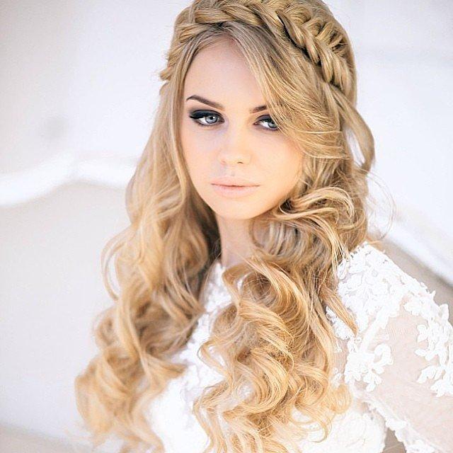 """Más inspirador peinados juveniles para bodas Imagen de cortes de pelo consejos - Moda Cabellos: Trenzas en el pelo suelto """"Super juvenil"""" 2015"""