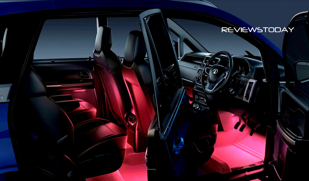 Exclusive review tata hexa extreme road test for Interior design lighting quiz