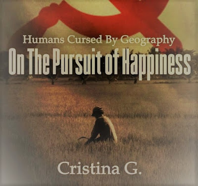 Humans cursed by geography by Romanian author Cristina G.
