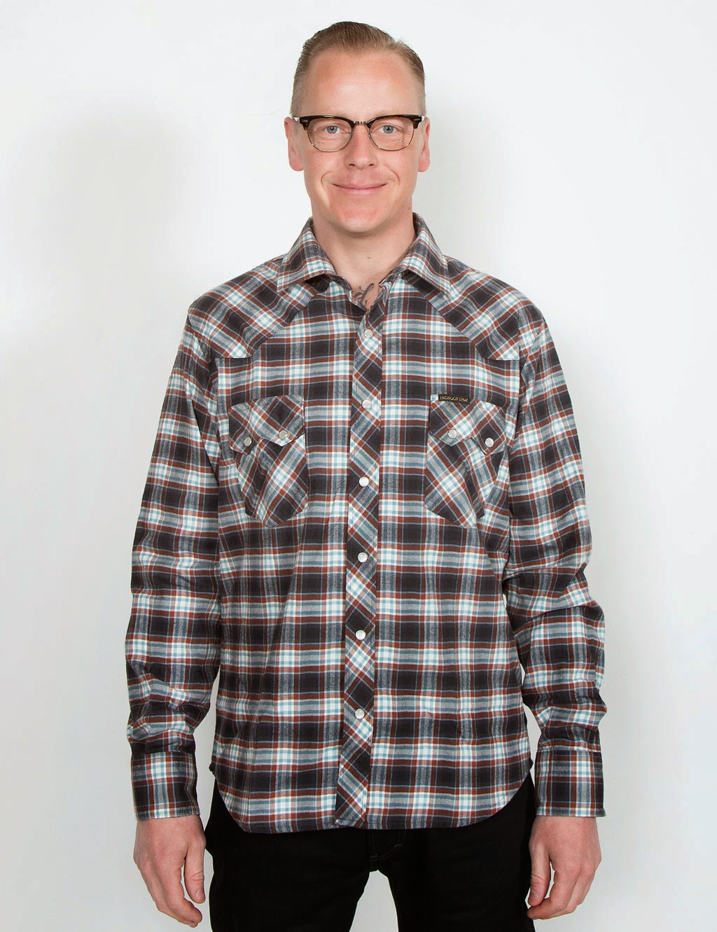 http://www.hepcat.se/departments/indigofera-dollard-shirt-checked-navyred