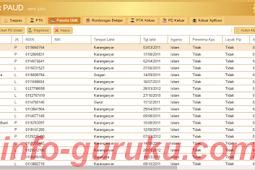 Download NISN TK / Paud Seluruh Indonesia