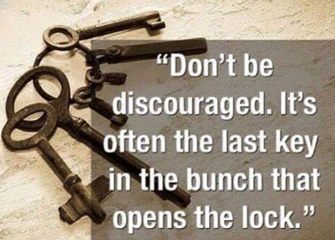quotes overcome discouragement