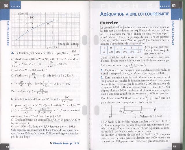 école : références: Mathématiques, Annales de bac