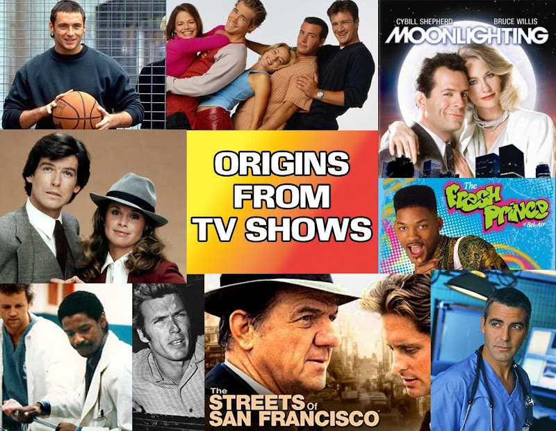 Origins:50 Hollywood Stars who started off in television shows #AtoZChallenge