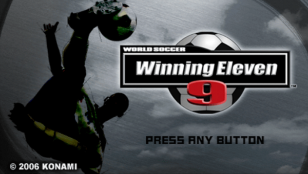 Winning Eleven 9 Iso/Cso PPSSPP