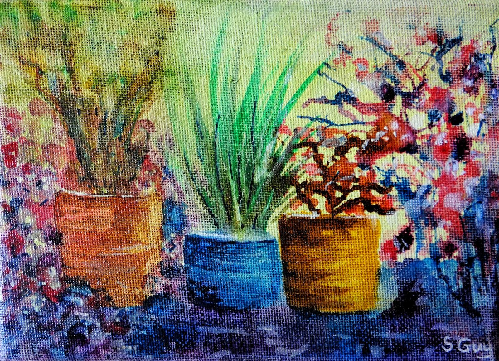 Do NOT varnish acrylic ink paintings! - Stephanie Guy Fine Art