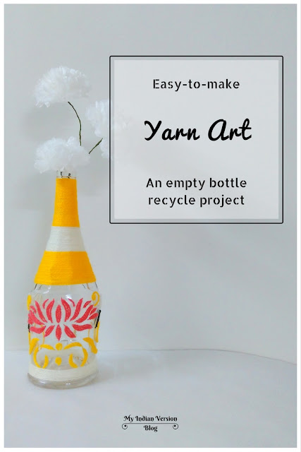 diy-yarn-art-empty-bottle-recycle-project-myindianversion-blog