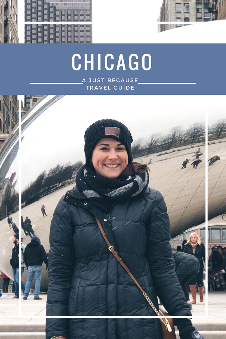 chicago just because a travel guide