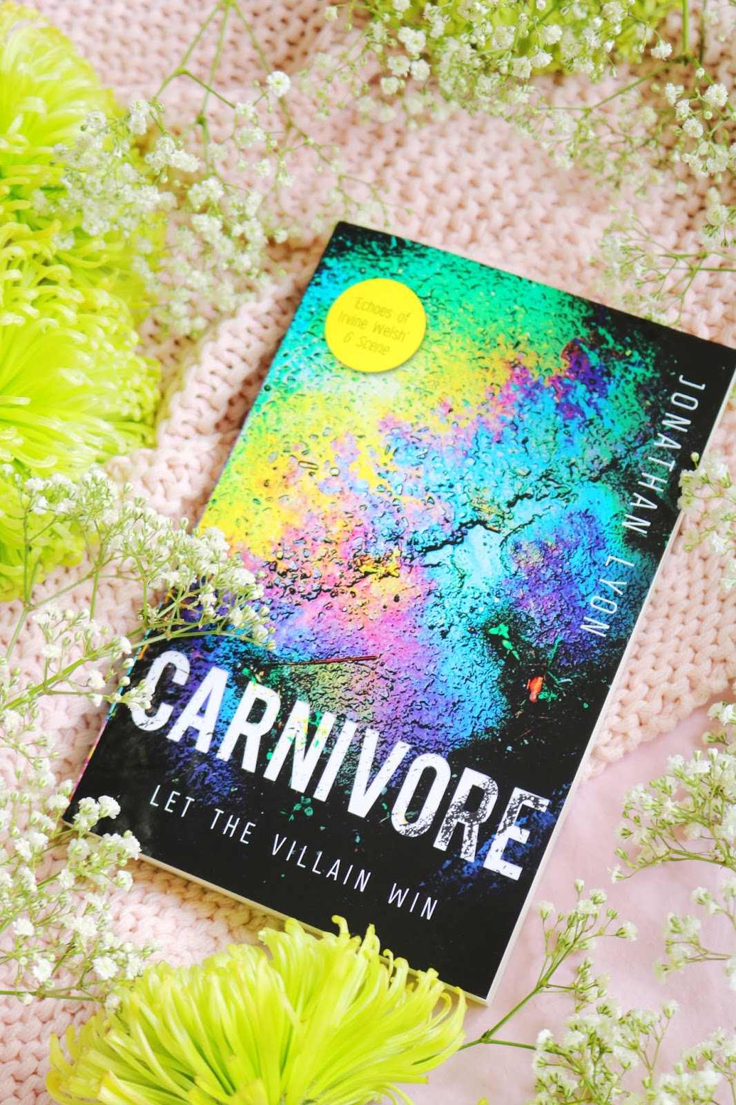 Blog Tour: Carnivore by Jonathan Lyon