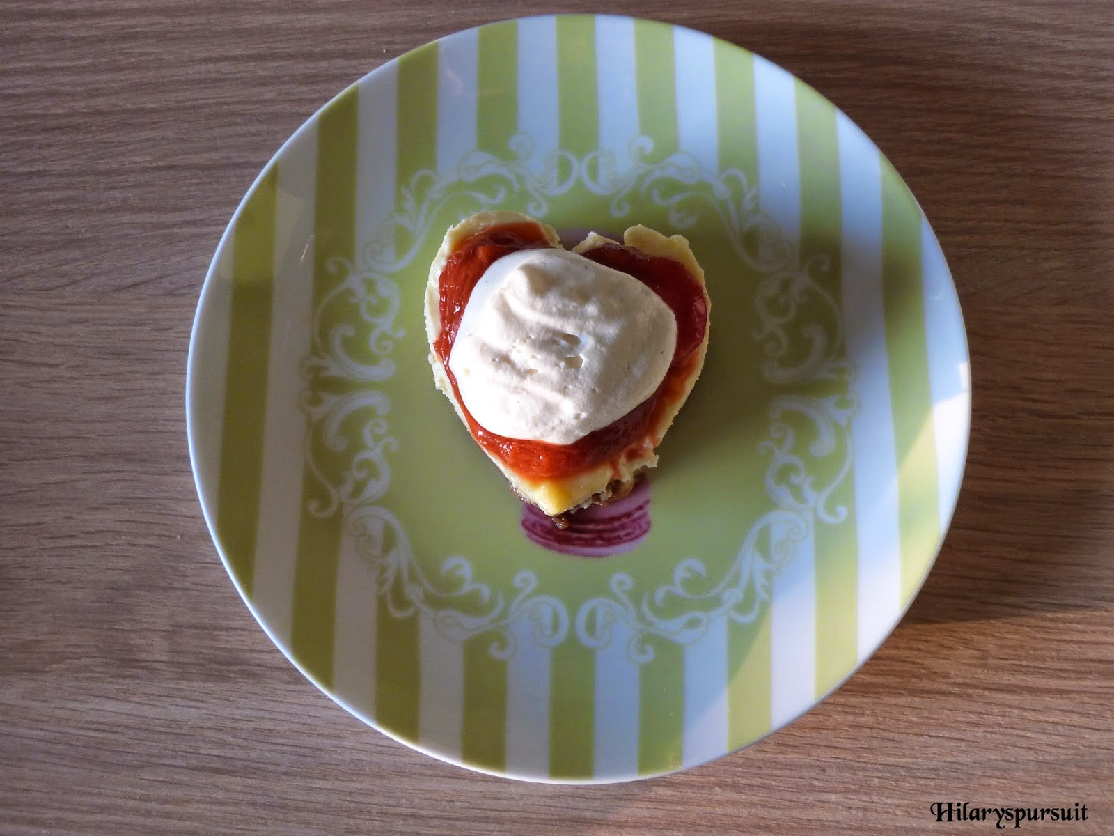 Ma version du cheesecake fraise-rhubarbe de Christophe Michalak