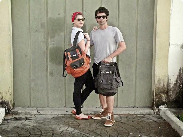 urbano e retrô, blog de casal, look de casal, jell e marcelo, bicho do couro