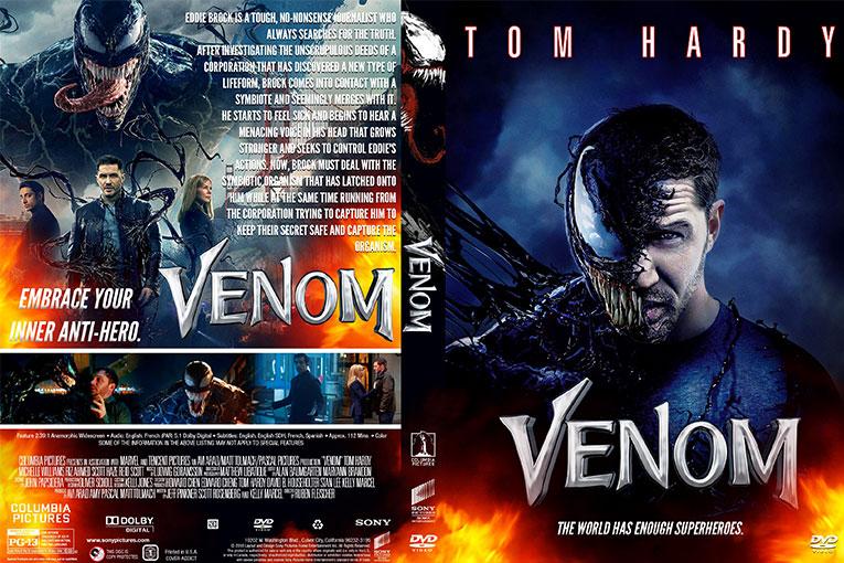 Venom (2018) 720p BrRip [Dual Audio] [Hindi 5.1+English]