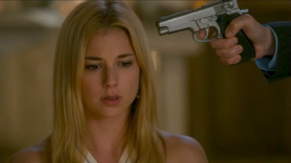 Revenge - Emily has a gun pointed at her head