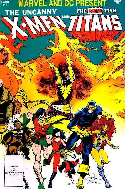 Pencil Ink  X-Men And The New Teen Titans 1 - Walt -5213