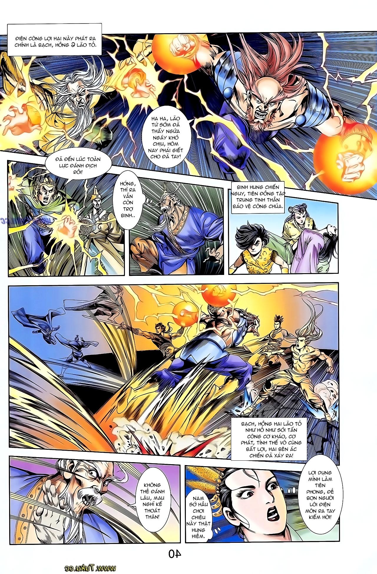 Cơ Phát Khai Chu Bản chapter 126 trang 24