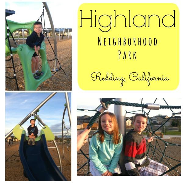 Highland Neighborhood Park, Redding, CA  www.wayupnorthincali.blogspot.com