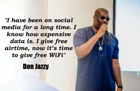 Marvin Record Boss, Don Jazzy Launches Free Wifi For Lagos Residence