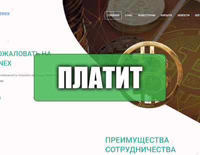 Скриншоты выплат с хайпа crypthonex.net