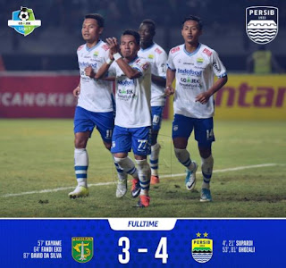 Cuplikan Pertandingan Persebaya vs Persib 3-4 (Video Gol & Highlights) #PersibDay