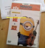 Logo In consegna DVD Minions vinti con Cucciolone Maxi: prova anche tu a vincerli