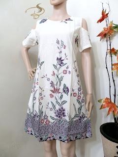 Dress Batik Kupu Sabrina
