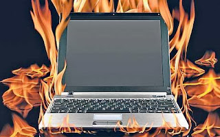 Over Heated USB modem could burn Laptop