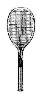 tennis sport equipment illustration digital image download